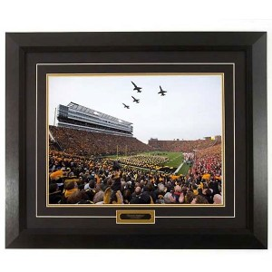 Iowa Football - Wings Over Kinnick Print