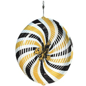 "Iowa Hawkeyes Flying Herky 4"" Swirly"