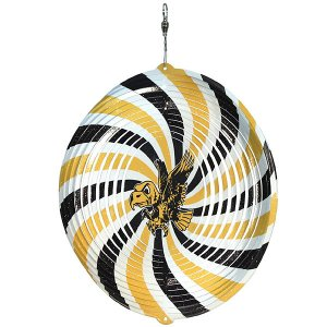 "Iowa Hawkeyes Flying Herky 7"" Swirly"