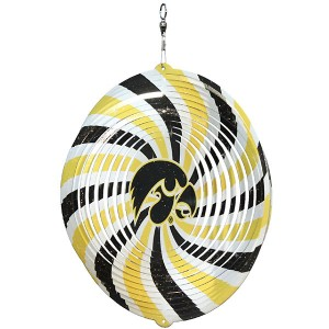 "Iowa Hawkeyes Herky Head 4"" Swirly"