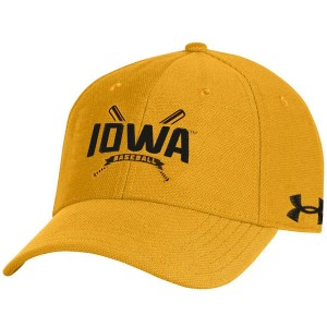 Iowa Hawkeyes Baseball Gold Hat