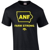 Iowa Hawkeyes Farm Strong State Tee