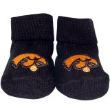 Iowa Hawkeyes Newborn Booties