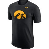Iowa Hawkeyes Dri-Fit Logo Short Sleeve Tee
