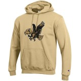 Iowa Hawkeyes Old Flying Herky Hoodie