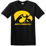 Iowa Hawkeyes Men's Gymnastics Tee