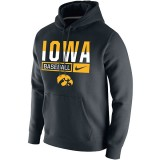 Iowa Hawkeyes Baseball Club Fleece Hoodie