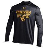 Iowa Hawkeyes Proven at the Plate LS Tee