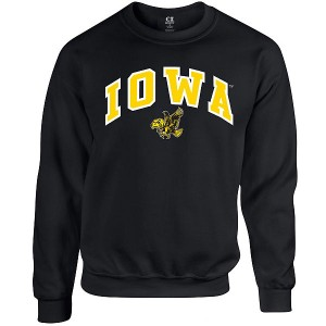 Iowa Hawkeye Dapp Fleece Crew Sweat
