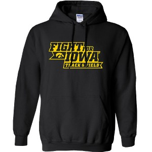 Iowa Hawkeyes Track & Field Fight for Iowa Hoodie