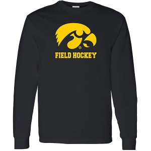 Iowa Hawkeyes Field Hockey Logo Long Sleeve Tee