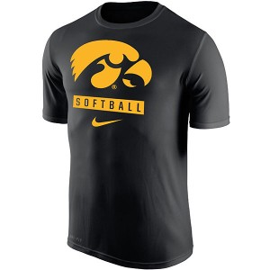 Iowa Hawkeyes Softball Dri-Fit Legend Tee