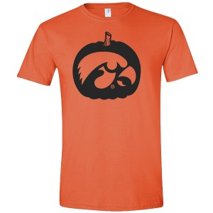 Iowa Hawkeyes Pumpkin Tee - Short Sleeve