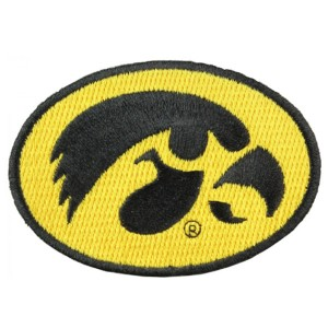 "Iowa Hawkeyes Collector Mini 1"" Patch"
