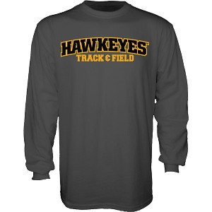 Iowa Hawkeyes Track and Field Senior Mascot Tee - Long Sleeve