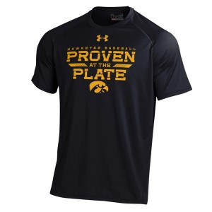 Iowa Hawkeyes Proven at the Plate Tee