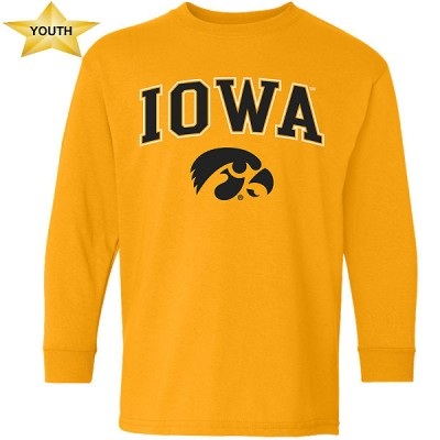 Iowa Hawkeyes Youth Long Sleeve Tee